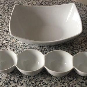 Other - White ceramic bowls